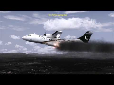 Plane Crash Pakistan Flight 661 PIA ATR 42-500
