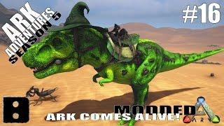 ARK Adventures Season 5 #16 - High Level Apex Rex Tame!