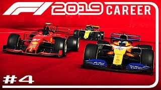 F1 2019 Career Mode Part 4 | SOFTS LAST 3 LAPS?! | Chinese GP