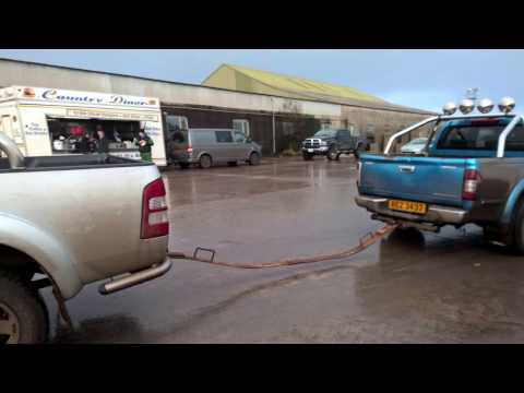 Ford ranger vs Isuzu pickup