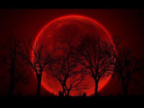 IMPRESIONANTES IMÁGENES de la luna de sangre