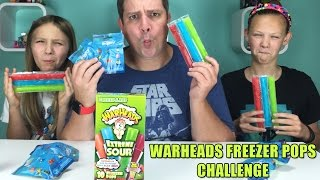 Warheads Freezer Pops Challenge   Finding Dory Blind Bags