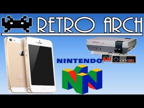 RetroArch || Emulador IOS todo en uno || N64/NES/SNES/GBC/GBA Y MUCHOS MAS
