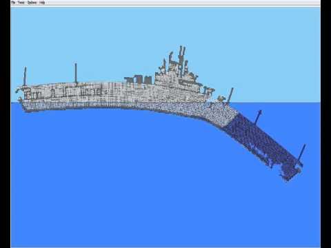 Симулятор крушения корабля