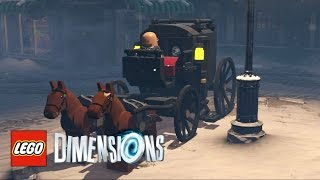 LEGO Dimensions - How To Find Strax And Defeat The Snowmen