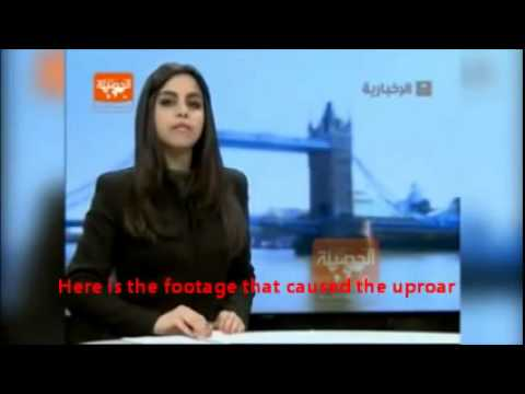 Female Saudi TV news anchor shows hair, causes national outrage in strict Islamic Saudi Arabia