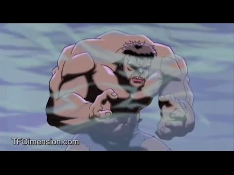 Ultimate Avengers- Hulk transformation