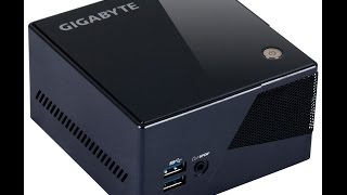 Gigabyte Brix Pro 4770R Iris Graphics Hackintosh Mini OSX Yosemite Bootable