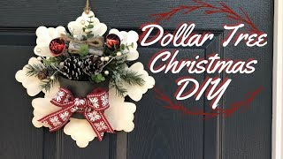 Dollar Tree Christmas DIY   Christmas Decor DIY