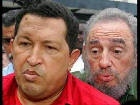 broma a hugo Chavez en el vacilon