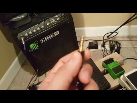 Irig 2 setup! how to record bass/guitar using only your phones camera, no apps needed!