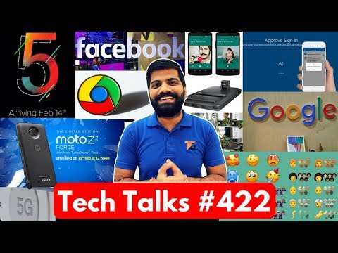 Tech Talks #422 - Redmi Note 5, Whatsapp Calling Charges?, 157 New Emojis, Moto Z2 Force India