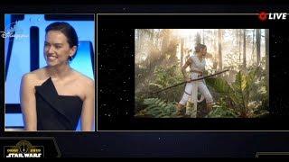 Star Wars Episode 9 Rise Of The Skywalker Panel FULL - Star Wars Celebration 2019