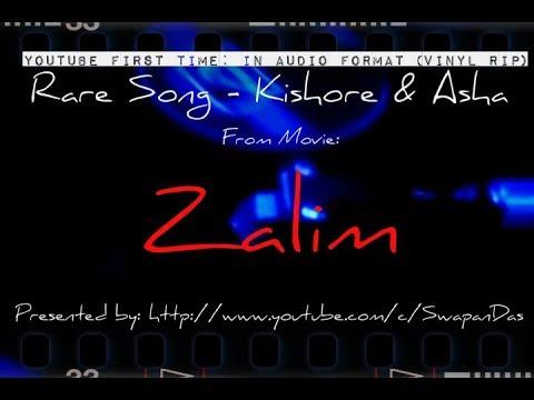 ZALIM - Chalo Kho Jayen - a rare Kishore-Asha duet song (source: EP Record/Vinyl)