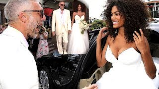 Ooh-la-la! French actor Vincent Cassel, 51, marries model wife Tina Kunakey, 21