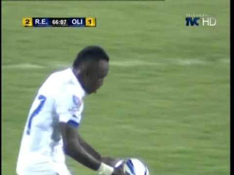 TVC DeportesTVC Primer gol de Olimpia 1 2 Real España Apertura 2014 2015
