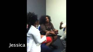 Jessica Reedy Video - Jessica Reedy - Backstage in New Orleans with Background Singers