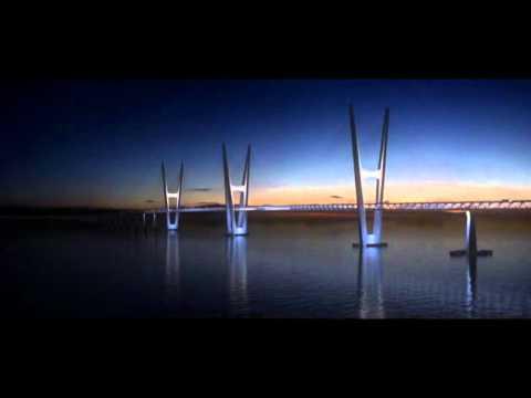 Fehmarn Belt Bridge linking Denmark and Germany