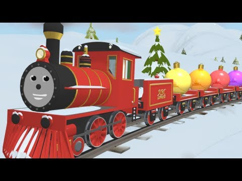 Educational cartoon for children where Shawn the Train teaches different colors and decorates the Christmas tree. Great Train theme will help your child reme...