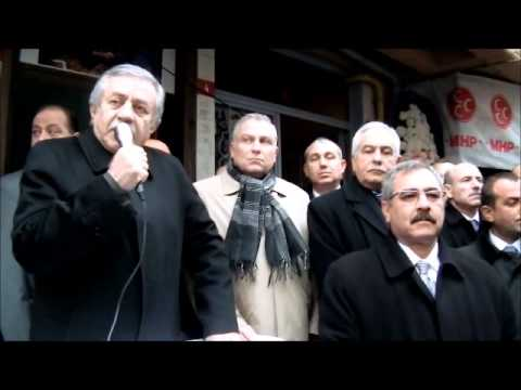 MHP Bayrampaşa İlçe Teşkilatı Yıldırım Mahallesi İrtibat Bürosunun Açılışı,