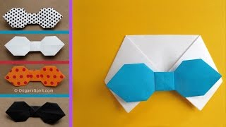 How to make a Paper Bowtie for Father