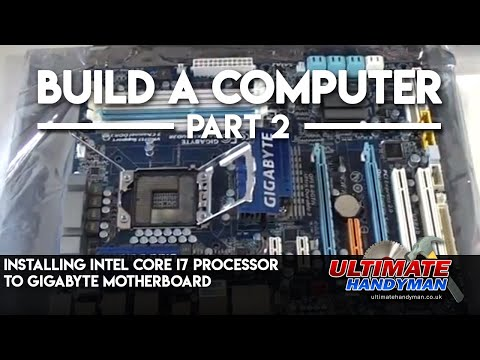 installing intel core i7 processor to gigabyte motherboard
