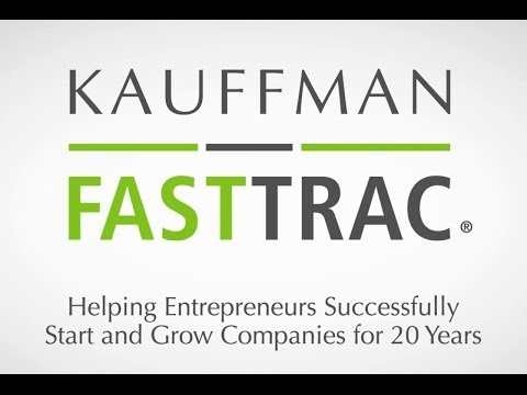Kauffman FastTrac 20th Anniversary Video