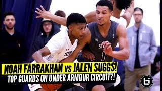 Jalen Suggs vs Noah Farrakhan! Top Guards Battle at UAA I! Full Highlights!