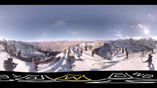 [360 VR] fantastic sight of the grand canyon