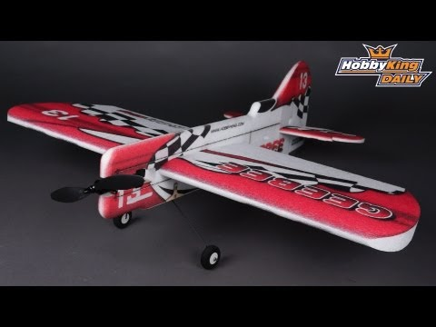 HobbyKing Daily - GeeBee 3D Aerobatic EPP Airplane