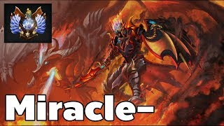 Miracle- Pro Dragon Knight Mid Rank MMR Game