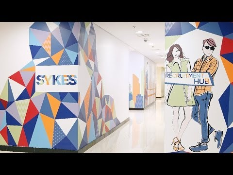 SYKES' New Support Center in Glorietta 1 at Makati City