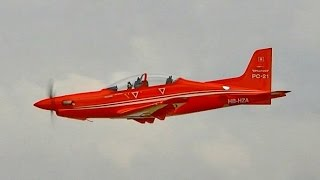 PILATUS PC-21 RC SCALE TURBOPROP MODEL AIRCRAFT / Jetpower Fair 2016