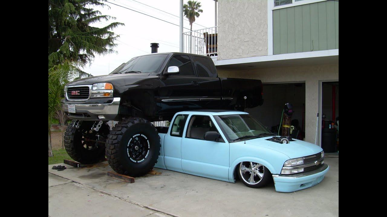 2000 gmc sierra monster truck youtube