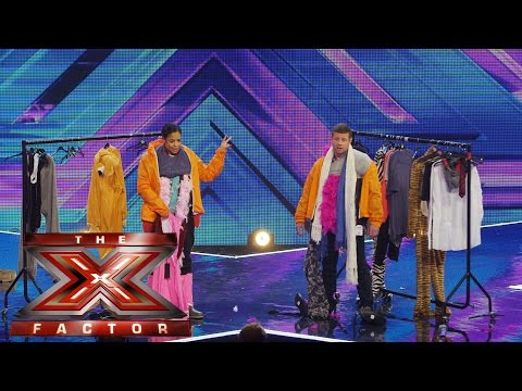 The Presenter Games: Dress For Success | The Xtra Factor UK | The X Factor UK 2014