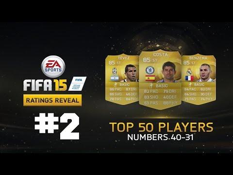 FIFA 15 | ¡Stats de Jugadores Oficiales #2! | (Gotze, Costa, Alonso, Vidal...)