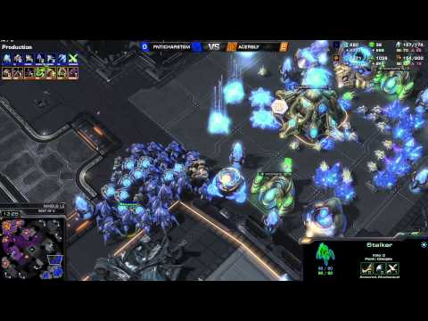 ZvP Hartem vs Bly -g3- Starcraft 2 HD polski komentarz Heart of the Swarm