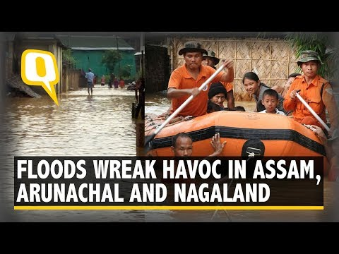 Siang Flood Warning: Arunachal, Assam, Others on High Alert | The Quint