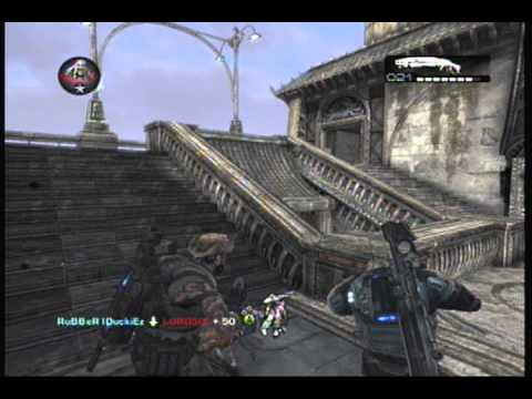 Gears of War 2 2nd Shotgun Montage | RuBBeR IDuckiEz