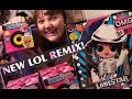 NEW L.O.L. Surprise OMG REMIX Lonestar Doll & LOL Hair Flip Series Dolls – Unboxing & Review