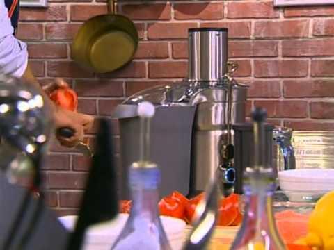 Смак - Марина Неелова - томатный коктейль, рыба в тесте по французски, закуска из морепродуктов