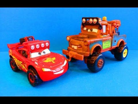 Тачки Маквин и Мэтр едут к морю Мультик про машинки Cars McQueen