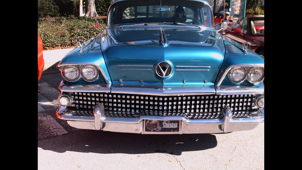 1958 Buick Century 4 Door Sedan Blu Nsmyrn011412 Youtube