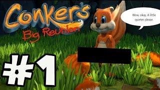 Conker's Big Reunion - Gameplay Walkthrough Part 1 [ HD ]