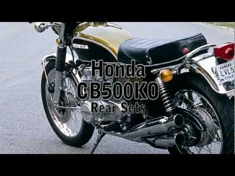 Clymer Manuals Honda CB500 Rear Sets Rearsets Product Review Tarozzi Fast From The Past Video