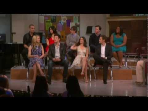 Oprah And The Glee Cast 4 7 2010 video