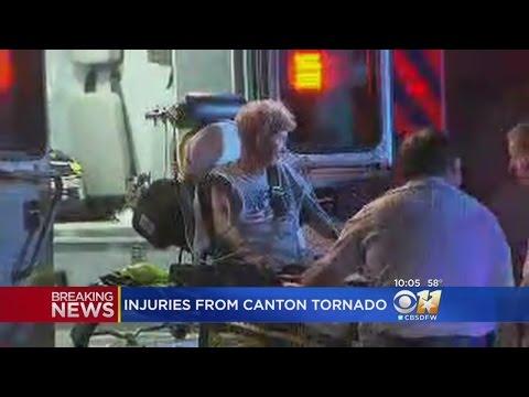 Tornado Hits Canton
