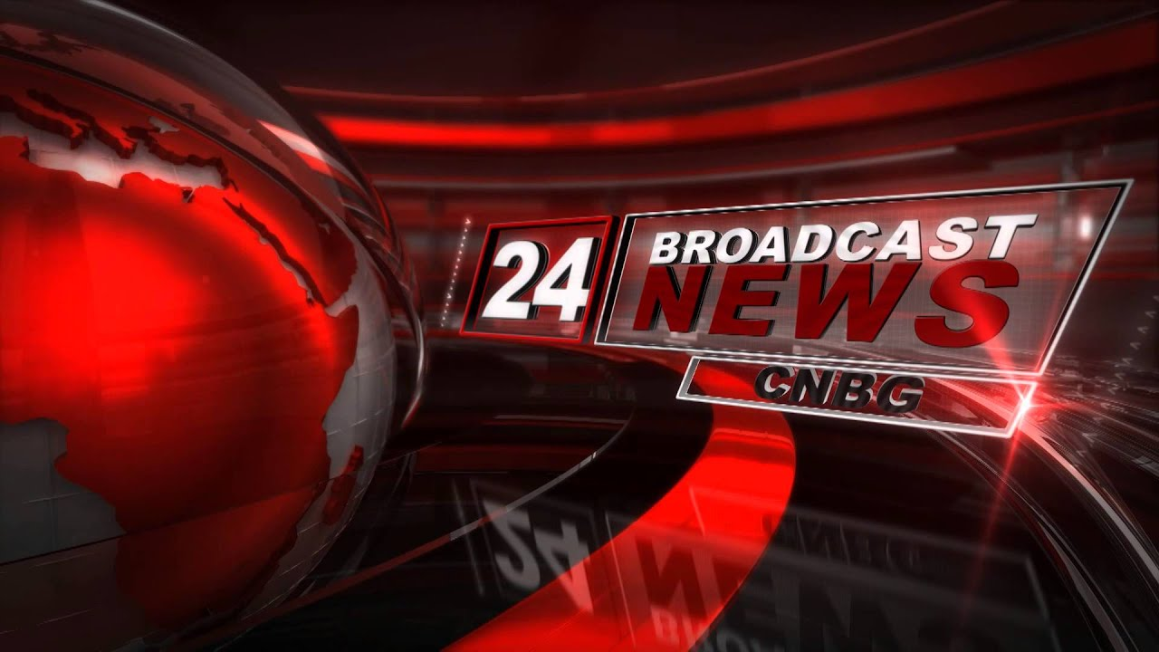 24 news broadcast template