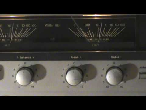 Dual CV 1260  stereo amplifier