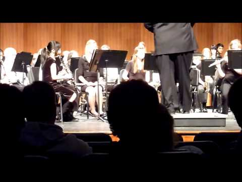 Encanto as performed by Chanhassen High School 9th Grade Concert Band. 3/11/13